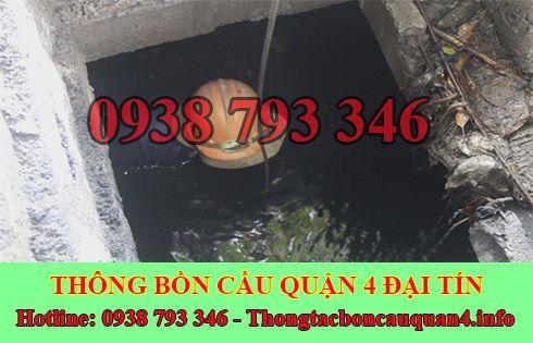 Bảng Gía Dịch Vụ Hút Nạo Vét Hố Ga Quận 4 Gía Rẻ 0935077441