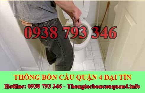 Số điện thoại thông bồn cầu Quận 4 giá rẻ 0938793346