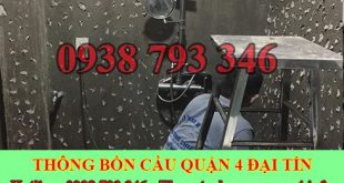 Thợ sửa bồn rửa chén bát Quận 4 tại nhà giá rẻ 0903737957