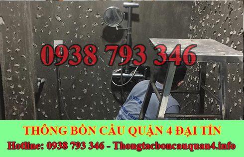 Thợ sửa bồn rửa chén bát Quận 4 tại nhà giá rẻ 0938793346