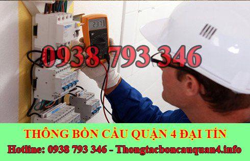 Thợ sửa chữa điện nước Quận 4 giá rẻ tại nhà 0938793346