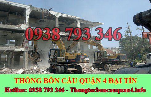 Thu mua xác nhà kho xưởng cũ Quận 4 giá cao 0938793346