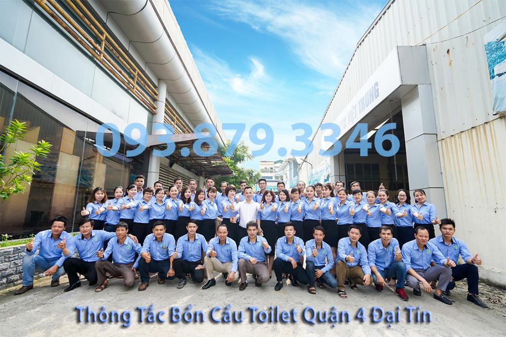 Đội Ngũ Thông Tắc Bồn Cầu Toilet Quận 4 Đại Tín