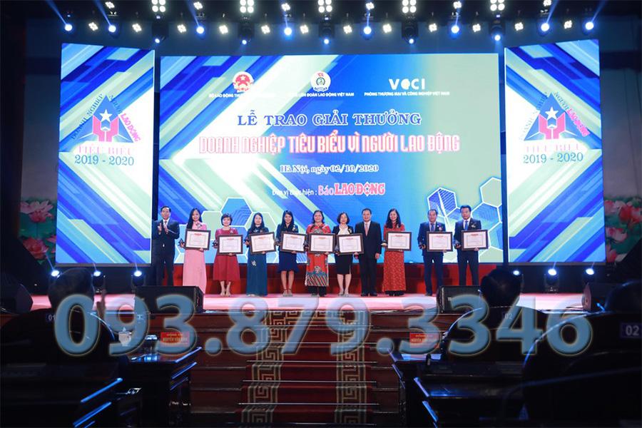 Công Ty Thông Tắc Bồn Cầu Toilet Quận 4 Đại Tín được trao giải doanh nghiệp tiêu biểu 2020