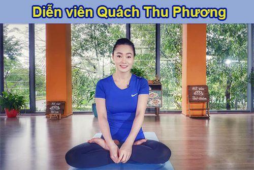 Diễn viên Quách Thu Phương dạy yoga?